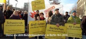 Demo vor Bundeskanzleramt